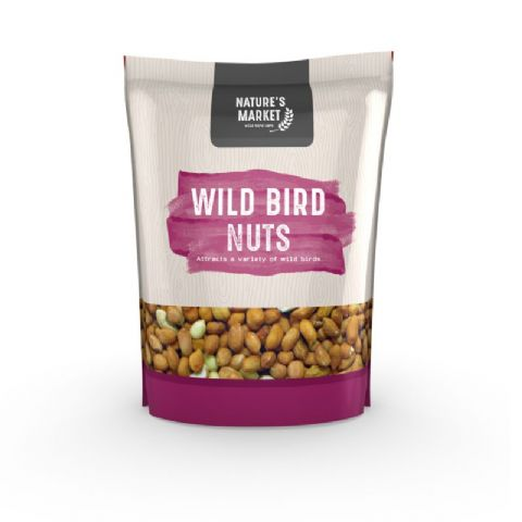 Wild Bird Nuts Peanuts For Garden Birds Bag Kingfisher Bird Care 1kg